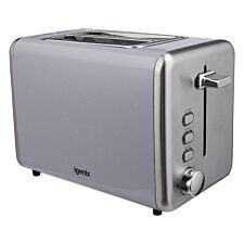 Igenix IG3000G 2-Slice Stainless Steel Toaster - Grey