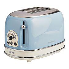 Ariete AR5515 Vintage 2–Slice Toaster – Blue