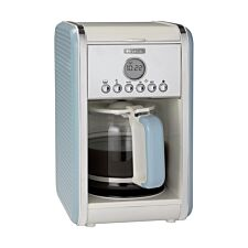 Ariete AR4205 Vintage 12-Cup Filter Coffee Maker - Blue