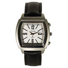 Lifemax Vintage Talking Atomic Watch - Leather Strap