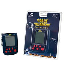 Space Invaders Key Ring Game