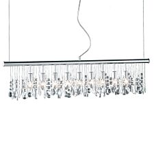 Action Crystal Pendant Bar/Spot Light - Chrome