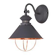 Wofi Florence Wall Lamp - Grey