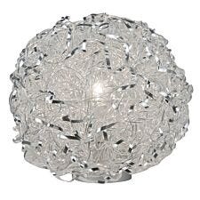 Wofi Fortune Table Lamp - Silver