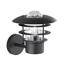 Wofi Torrent Wall Lamp - Black