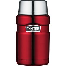 Thermos GTB Stainless King Food Flask 710ml - Red
