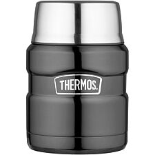 Thermos SK3000 470ml GTB Stainless King Food Flask - Gun Metal