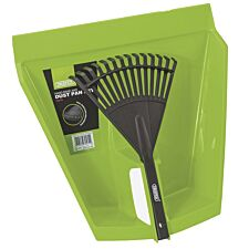 Draper Hand Rake and Dust Pan Set