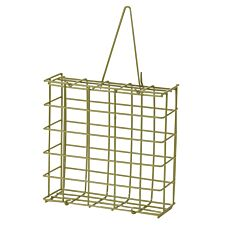 Chapelwood Suet Cake Feeder - Green