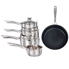Salter Optimum Collection 5pc Pan Set