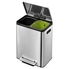 EKO Ecocasa Recycling Bin 30L - Stainless Steel