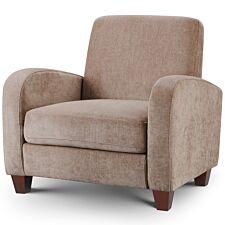 Julian Bowen Vivo Chair - Mink Chenille