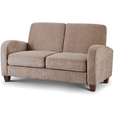 Julian Bowen Vivo 2 Seater Sofa - Mink Chenille