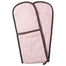 Beau & Elliot Champagne Edit Blush Double Oven Gloves