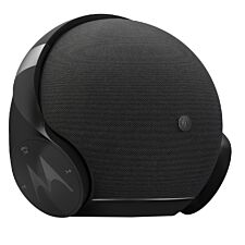 Motorola 2-in-1 Bluetooth Speaker & Wireless Over-Ear Headphones - Black