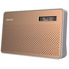 Goodmans Canvas DAB & FM Radio - Copper