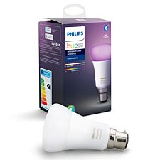 Philips Hue Smart Wi-Fi Dimmable Colour Ambience B22 60W Bluetooth Light Bulb