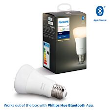 Philips Hue Smart Wi-Fi Dimmable White E27 60W Bluetooth Light Bulb