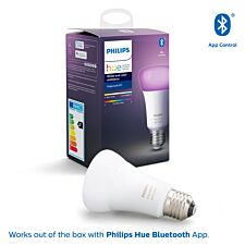 Philips Hue Smart Wi-Fi Dimmable Colour Ambience E27 60W Bluetooth Light Bulb