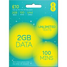 EE Payg 4G £10 Data Multi Sim