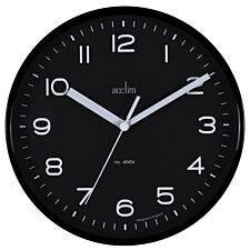 Acctim 'Runwell' Wall Clock - Raven Black
