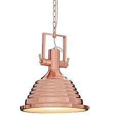 Premier Housewares Lexington Medium Copper Pendant Light