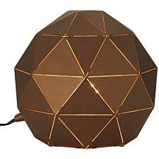 Premier Housewares Mateo Table Lamp - Brown
