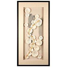 Premier Housewares Modello Paper Sculpture Wall Art - Gold Finish