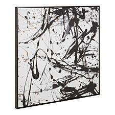 Premier Housewares Astratto Black/White Wall Art