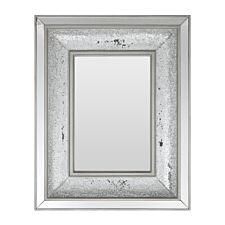 Premier Housewares Wallis Mosaic Wall Mirror - Silver
