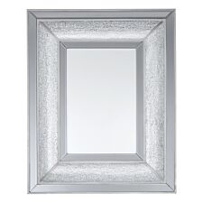 Premier Housewares Wendi Mosaic Wall Mirror - Silver
