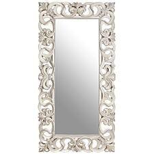 Premier Housewares Rectangular Wall Mirror - Silver Finish