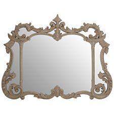 Premier Housewares Haniel Wall Mirror - Antique Grey Finish