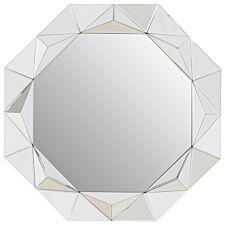 Premier Housewares Gael Wall Mirror - Silver