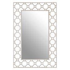 Premier Housewares Zariah Wall Mirror - Antique Silver Finish