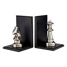 Premier Housewares Kensington Townhouse Chess Bookends