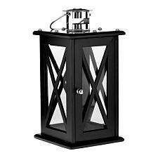 Premier Housewares Hampstead Black Lantern - Medium