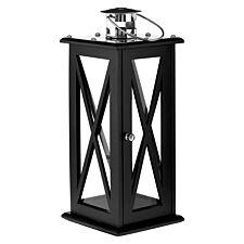 Premier Housewares Hampstead Black Lantern - Large