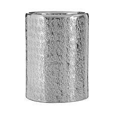 Premier Housewares Safia Small Silver Candleholder