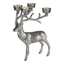 Ds stag tealight holder nickel