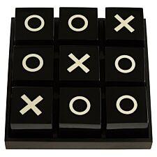 Premier Churchill Games Large Tic Tac Toe - Black