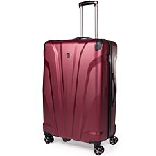 Gino Ferrari Quasar ABS Large Suitcase - Burgundy
