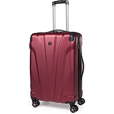 Gino Ferrari Quasar ABS Medium Suitcase - Burgundy