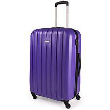 Pierre Cardin Asur ABS Large Suitcase - Purple