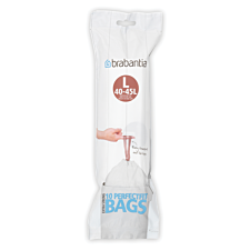 Brabantia PerfectFit 45L Size L Bin Liners - Pack of 10