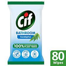 Cif Bio Bathroom Wipes - 80