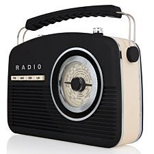 AKAI Vintage Radio - Black