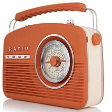 AKAI Vintage Radio - Burnt Orange