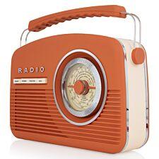 AKAI DAB Vintage Radio - Burnt Orange