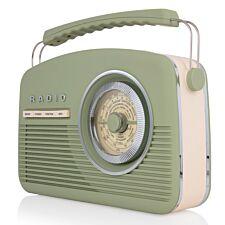 AKAI DAB Vintage Radio - Sage Green
